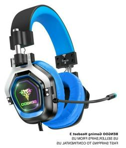 gaming headset 3 for ps4 pc xbox
