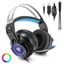 Gaming Headset for Xbox one, PS4, PC, Laptop, Nintendo Switc