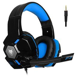 PC Gaming Headset Microphone Stereo Headphones PS4 Xbox One