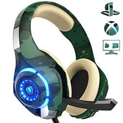 Gaming Headset for PS4 Xbox One PC, Beexcellent Stereo Sound