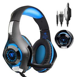 PS4 Headset |Playstation 4 Gaming Headset Mfeel PS4 Gaming H