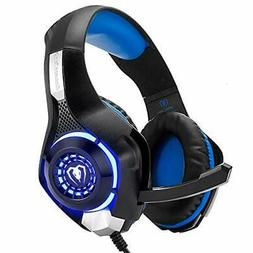 Pro Gaming Headset With Mic XBOX One PS4 PC Mac Headphone wi