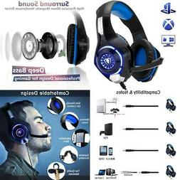 Beexcellent Gaming Headset for PS4 Xbox One PC Mac Controlle