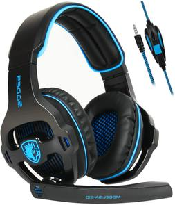SADES Gaming Headset for Xbox One,PS4, PC Headphones with Mi