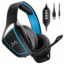 Mpow Gaming Headset Noise Cancelling Headphones for PS4 PC X