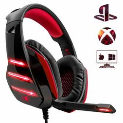 Beexcellent Gaming Headset PS4 Headset/ Xbox One Deep Bass H