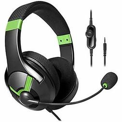 AmazonBasics Gaming Headset - Green
