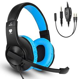 Gaming Headset for PS4,Xbox One Controller,Weton Updated Ste