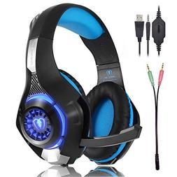 Beexcellent GM-1 Gaming Headset for PS4 Xbox one PC, Beexcel