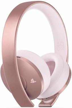 Sony Gold Wireless Headset Rose Gold PlayStation 4 PS4