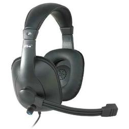 Cyber Acoustics Pro Grade Stereo Headset/mic  -