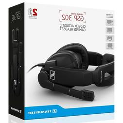 Sennheiser GSP 302 Closed Back Gaming Headset for PC, Mac, P