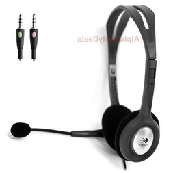 Logitech H110 Stereo Headset with Microphone Noise Cancellat