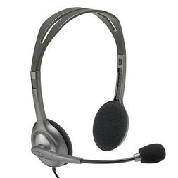 Logitech H110 Stereo Headset with Noise Cancelling Microphon