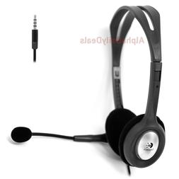 Logitech H111 Stereo Headset 3.5mm with Rotating Microphone
