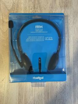 Logitech H111 Stereo On Ear Headphone Headset with Microphon