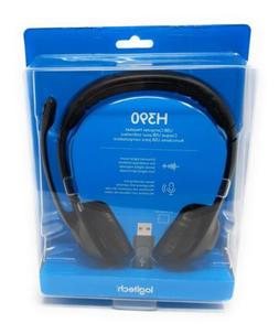 Logitech H390 Over-The-Head Design Clear Chat Comfort USB He