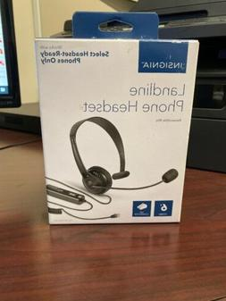 Insignia- Hands-Free Headset - Black NS-MCHM25PB