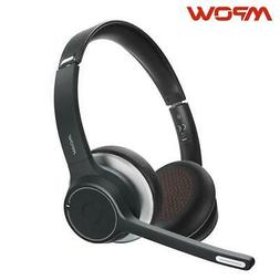 Mpow HC5 Bluetooth 5.0 Headset For Call Center Driver Office