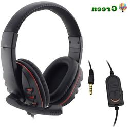 Headphones 3.5mm Wired <font><b>Gaming</b></font> <font><b>H