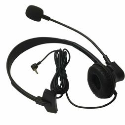 RocketBus Headset 2.5mm with Boom Mic for Panasonic Home Off