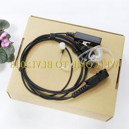 Headset Earpiece Mic For Motorola MTP3550 MTP3500 MTP3250 MT