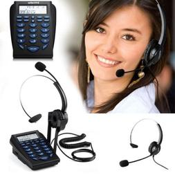 Home/Office telephone With headset Business phone for call c