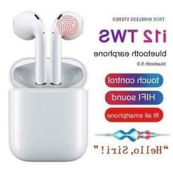 Hot i12 TWS Bluetooth 5.0 Headset Wireless Headphones Earpho