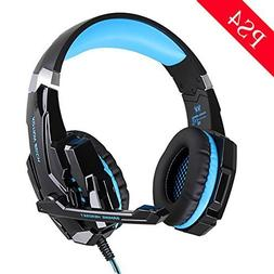 HTQ KOTION EACH G9000 Stereo Gaming Headset PS4 Mic LED Nois