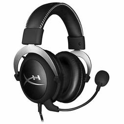 KINGSTON HyperX Cloud Gaming PC Headset Headphones SILVER fo