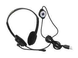 iMicro Im320 USB Headset with Adjustable Microphone Noise Ca