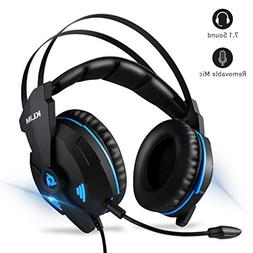 KLIM Impact Gaming Headset - PS4 and PC - USB 7.1 Surround S