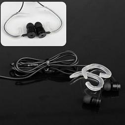 In-Ear 3.5mm Wired Earphone Earbuds Headset w/ Ear Hook for