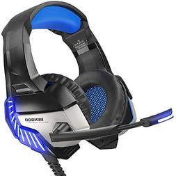 BENGOO K8 Gaming Headset for PS4, Xbox One, PC, Mac, Noise C