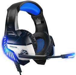 BENGOO K8 Stereo Gaming Headset for PS4, PC, Xbox One Contro