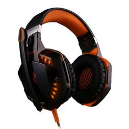 KOTION Each G2000 Gaming Headset Earphone 3.5mm Jack with LE