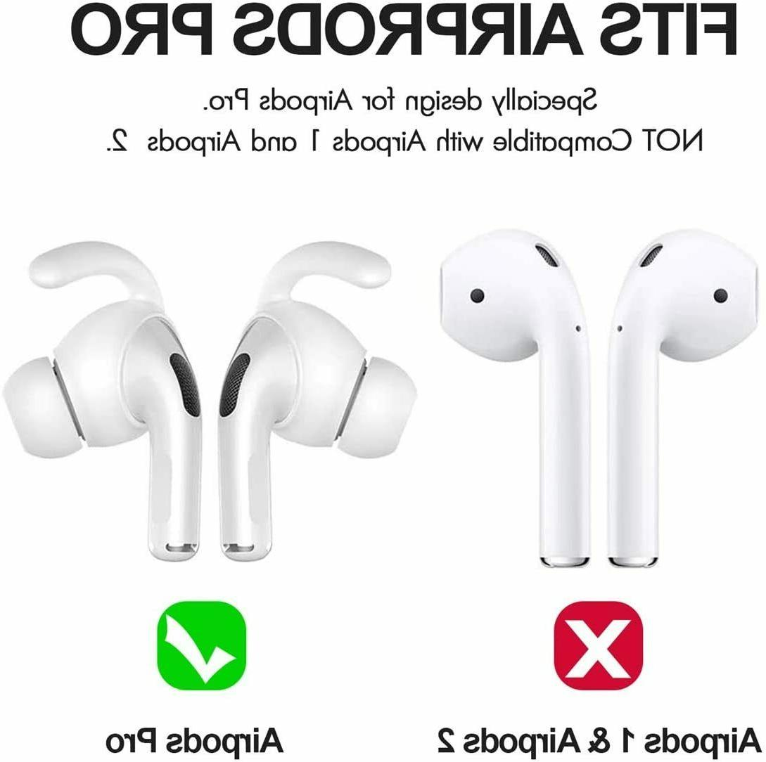 2 AirPods Ear Tips Premium Silicone