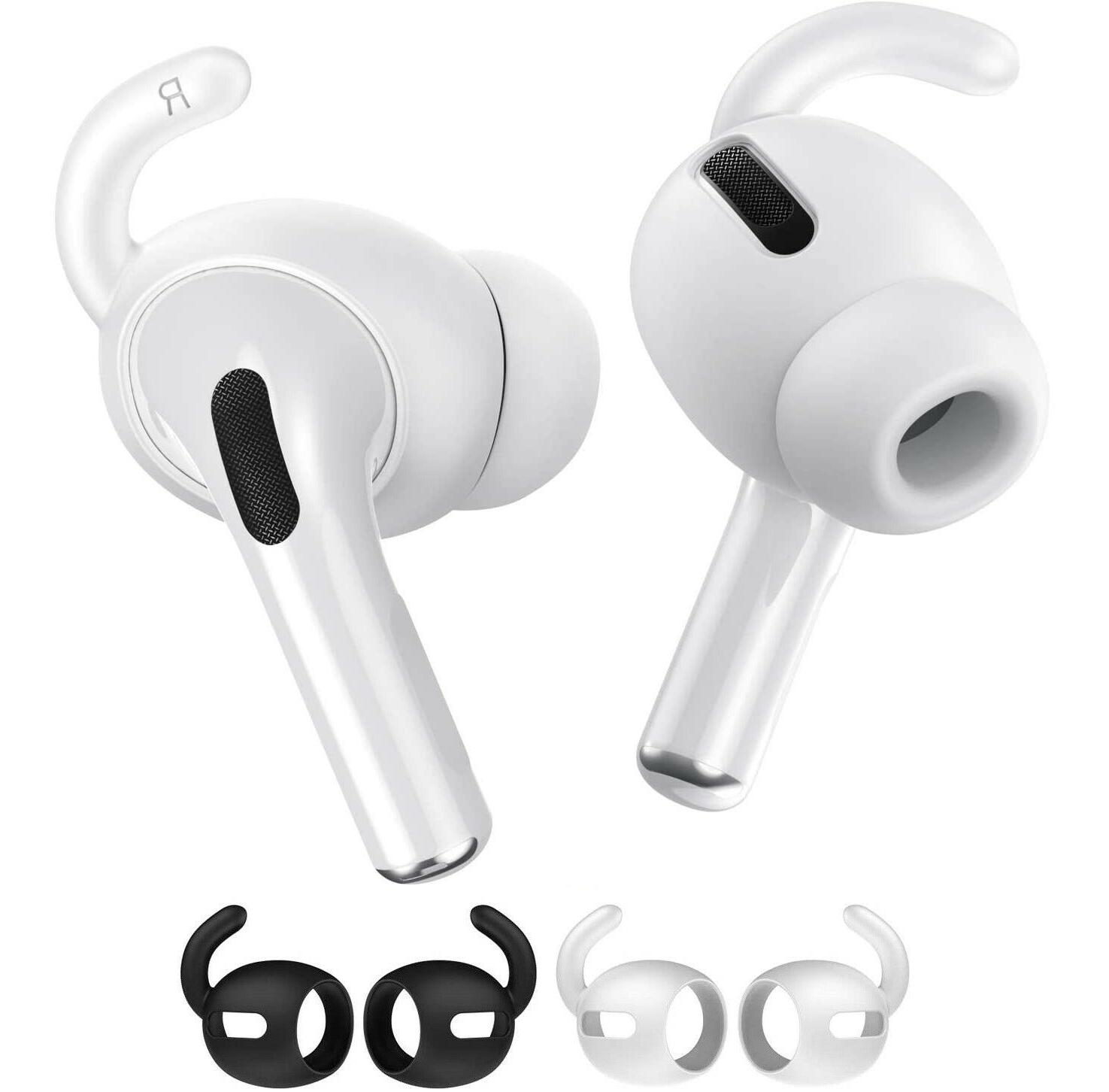 2 pairs airpods pro ear hook tips