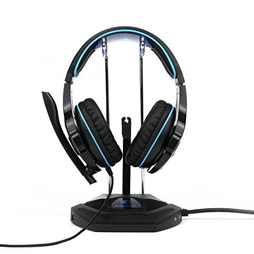 SADES Gaming Stereo Headphones with Noise Microphone Xbox One PS4 Laptop