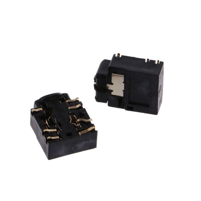2Pcs 3.5mm <font><b>Headset</b></font> Jack Replacement For S