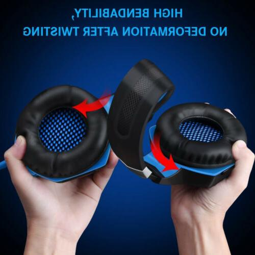 3.5mm Gaming Headphones Stereo Surround PS4 Xbox 360E