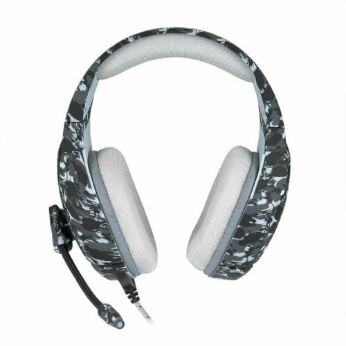 3.5mm Gaming Headset LED PC Slim Xbox