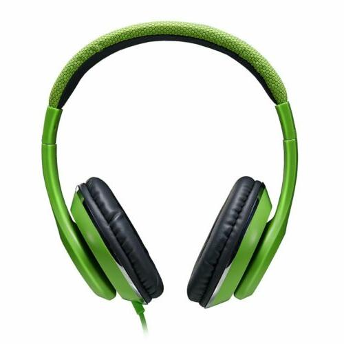 Ausdom Wired Stereo Headphones Headset Super Bass