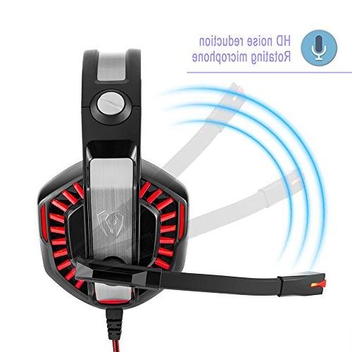 Beexcellent GM-2 for PS4 PC Gaming Mic-Sound LED for Game,PS4,Xbox