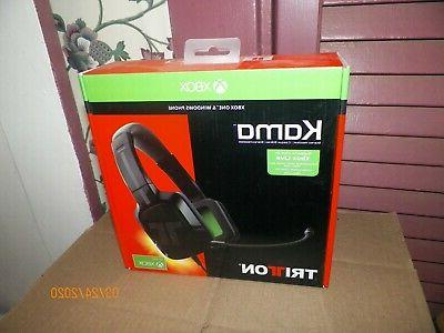 TRITTON Kama 3.5 Stereo Headset for Xbox One and Mobile Devi