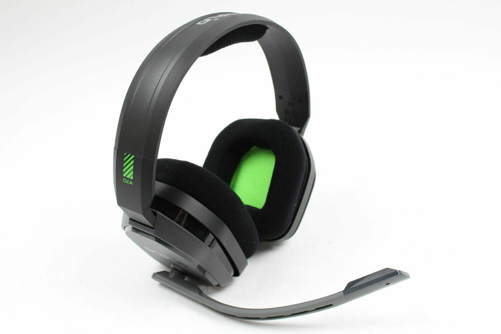a10 gaming headset green black xbox one