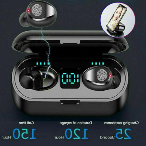 bluetooth 5 0 wireless earbuds headphone headset