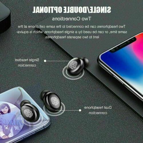 Bluetooth Earbuds Headphone Headset Noise Cancelling