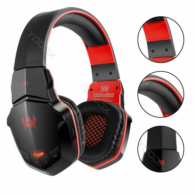 Bluetooth Gaming Headsets Headphones With Mic For Ps4