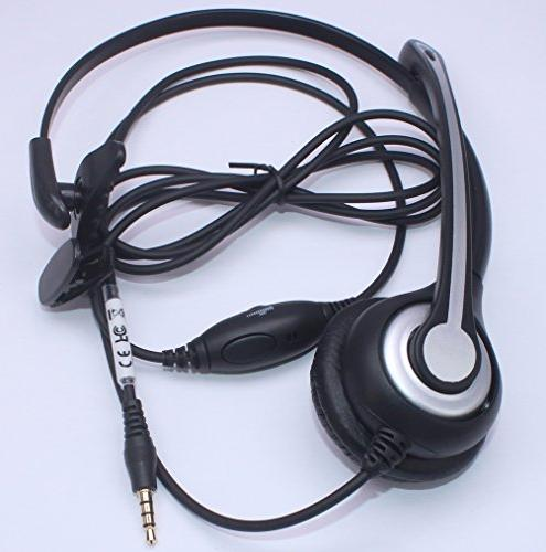 Wantek Headset Noise Canceling Fit ZTE BlackBerry and Smartphones with 3.5mm Jack